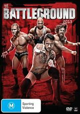 WWE: Battleground 2013 with special features DVD NEW