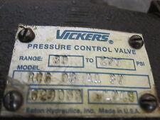 NEW VICKERS PRESSURE CONTROL VALVE # RCG-03-A1-30 # 629058