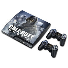 Skin Sticker Vinyl Decal Cover For PS3 PlayStation 3 Slim+2 Controllers TNS3110