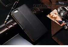 IPhone 6/6s 4.7 Leather Case Wallet With Stand Flip Book Cover ,Black