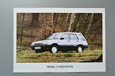 Sales Sheet Brochure: Toyota Tercel 1.5 4WD 4x4 Estate