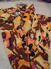 "Loudmouth Golf Cotton Blend Camo Pattern ""Tango A"" Golf Pants NWT 40 x 34"