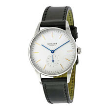 Nomos Orion White Dial Stainless Steel Unisex Watch 309