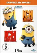 ICH-EINFACH UNVERBESSERLICH 1+2  (DVD)  TRICKFILM  NEU