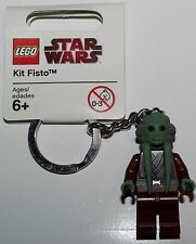 LeGo Star Wars Kit Fisto Minifig Keychain NEW