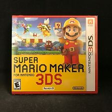 Super Mario Maker for Nintendo 3DS / BRAND NEW / US Version / In-Stock !!