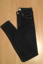RIVER ISLAND SIZE 8 REG STRETCH SKINNY JEANS IN EX COND