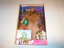 "Barbie wizard of oz collecetors doll ""Ken as Cowardly Lion"""