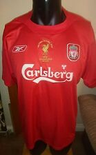 LIVERPOOL 2005 ISTANBUL REEBOK CHAMPIONS LEAGUE FINAL FOOTBALL SHIRT