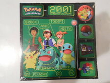 2001 POKEMON 16 MONTH CALENDAR (PIKACHU,ASH,BROCK,SQUIRTLE,MISTY,MEWTWO,DITTO)