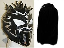 KALISTO MASK  BLACK CAPE CHILDRENS WRESTLING NEW FANCY DRESS UP COSPLAY WWE