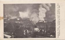 San Francisco CA *Lafayette Park during Fire Apr. 18, 1906 * Rieder Pub.