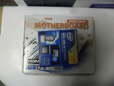 Brand new Foxconn H81MXV Motherboard and Intel i3-4150 Haswell CPU Combo Retail