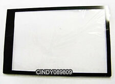 For Sony HX9V HX100V Camera Outer LCD Screen Display Window Glass +Tape