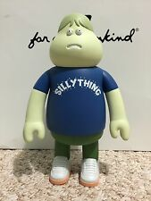 James Jarvis LEON Silly Thing BLUE Vinyl Toy Figure Amos Toy Sealed Silas Stussy