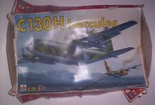 Early Rare Vintage ESCI C 130 H Hercules 1/72 Scale Plastic Model Kit  # 9102