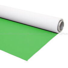 2x4m Dual Sided Chroma Key Green and White Vinyl Backdrop Crease Free Easy Clean