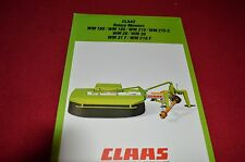 Claas Rotary Mowers Combine Dealer's Brochure LCOH