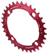 Race Face Single Narrow Wide 1x MTB Chainring - 104mm BCD 32t Red