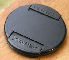 genuine pentax   front clip  on lens cap for 58mm filter