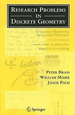 Research Problems in Discrete Geometry by William Moser, Peter Brass and...