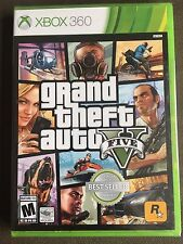 Grand Theft Auto V 5 (Xbox 360) GTA 5 - Brand New & Factory Sealed - Ships Fast