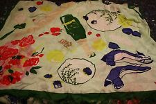 NWT Kate Spade lady bug picnic scarf in full bloom scarves