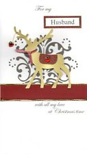 For My Husband Special Luxury Handmade Christmas Card Xmas Cards