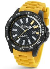 TW Steel Yamaha Factory Racing 45mm Yellow Strap Watch Y12