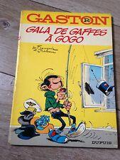 gala de gaffes à gogo (1973) GASTON LAGAFFE par Franquin dos rond