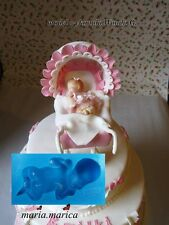 Silikonform silicone mold (004) baby kind 3D  cake sugarcraft resin gip