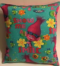 Trolls Pillow Dreamworks .New Trolls Movie Pillow Smile Pillow Made in USA