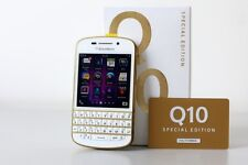 "TODAY DEAL :-Imported BlackBerry Q10 16GB 2GB 3.1"" 8MP 2MP White Gold Edition"