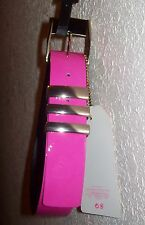 VERSACE FOR H&M PINK BELT SZ XS, MADE IN ITALY