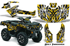 CAN-AM OUTLANDER 500 650 800 1000 2013-2016 GRAPHICS KIT CREATORX DECALS BTY