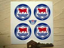 MORRIS 'OXFORD' style WHEEL CENTRES STYLE STICKERS 45mm