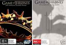 Game Of Thrones COMPLETE Seasons 2 & 3 : NEW DVD