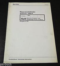 Werkstatthandbuch Audi A 4 / A4 Motronic Einspritzanlage Zündanlage ab 07 / 96