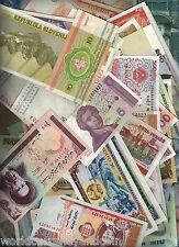 200 ALL DIFFERENT UNC WORLD BANK NOTE AFRICA ASIA EUROPE MONEY COLLECTION ANIMAL