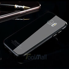 Luxury Metal Bumper Gorilla Glass Back Cover Case for Samsung Galaxy S7 /S7 Edge