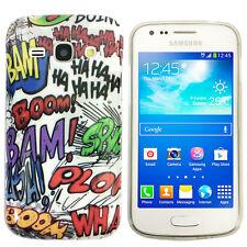 Hülle f Samsung Galaxy Ace 3 S7275 S7270 Schutz Case Tasche TPU Comic Boom