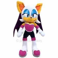 "Sonic The Hedgehog Rogue The Bat 12"" Plush Doll Sega Genuine Officially Licensed"