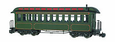 Bachmann 89399 Undec Green Coach With Full Interior, Lighted, Metal Wheels NEW