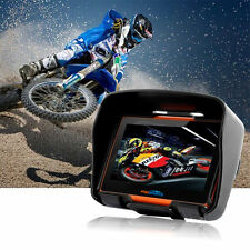 "4.3"" Touch Screen Waterproof Bluetooth Motorcycle 8GB GPS 256 RAM Navigator+Map"