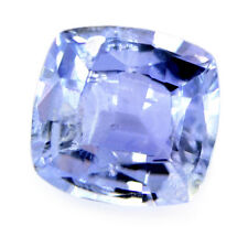 Certified Natural 1.15ct Light Blue Ceylon Sapphire SI Clarity Cushion Sri Lanka