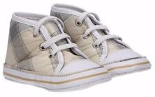 Burberry Baby Newborn Trainers Shoes Checked Shoes EU 17 UK 1 BNWB