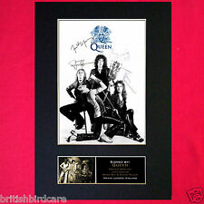 QUEEN Signed Autograph Quality Mounted Photo Repro A4 Print 327