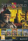 THE STRONGHOLD COLLECTION STRONGHOLD I & II LEGENDS for PC/XP/VISTA/7 SEALED NEW