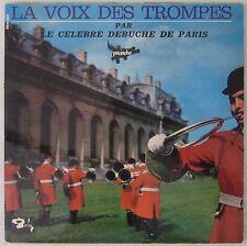 La voix des trompes 33 tours Débuché de Paris