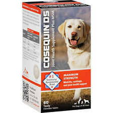 NUTRAMAX - Cosequin DS Plus MSM for Dogs - 60 Chewable Tablets
